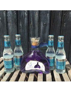 Sæt - Sharish - Blue Magic Gin + 4 Tonicvand