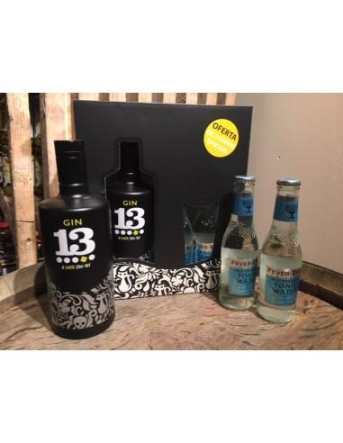 Gaveæske - Gin 13 + Tonicvand