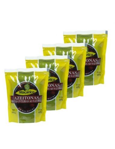 4 x Galega oliven med sten i ståpose