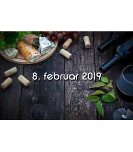 Vinsmagning og tapas, Aalborg - 8. februar