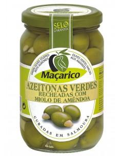Macarico Grønne oliven med mandler