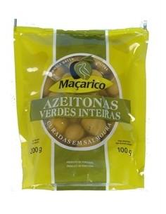Macarico Grønne oliven med sten