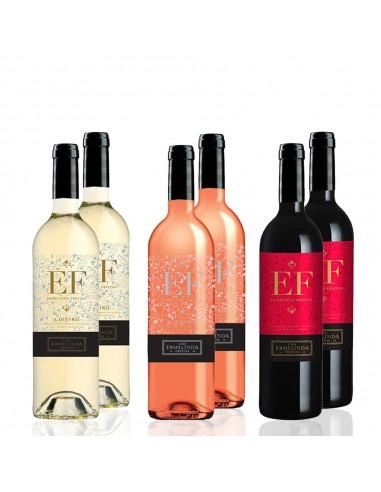 Sommer kasse med 6 EF vine