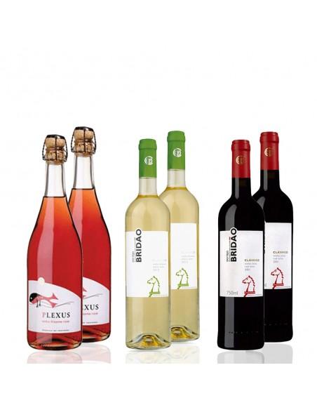 Vinkasse med 6 Tejo vine
