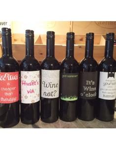6 x EF Tinto 2013, 6 forskellige design labels