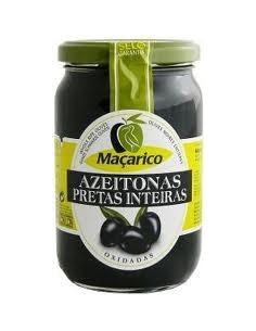 Macarico Sorte oliven uden sten