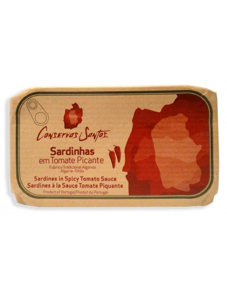 Sardiner i tomat med chili (piri piri)