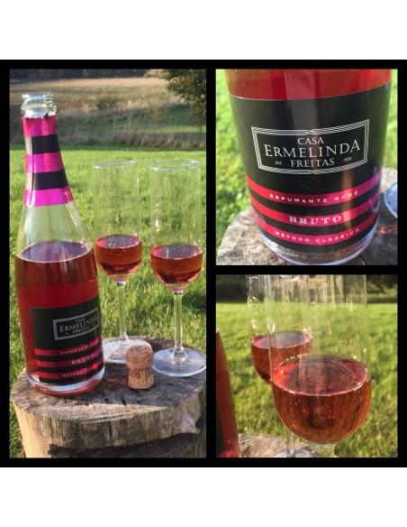 Casa Ermelinda Freitas – Espumante Rosé Brut (tør)