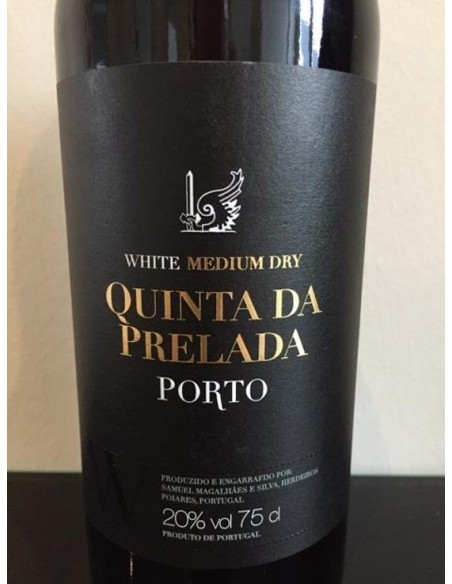 Semi Dry White Portvin - Quinta da Prelada
