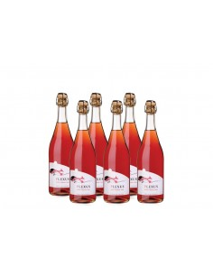 """Sweet Bubbles, Please"" - 6 x Plexus Frisante Rosé"