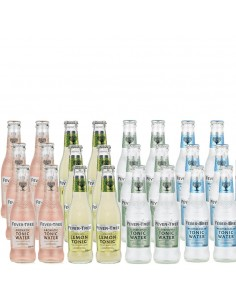 24 x Blandet Tonic - Fever Tree 200 ml.