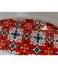 Olivenskål - Azulejo, rød