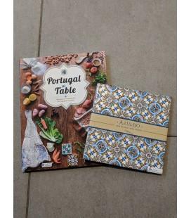 Gavesæt - Kogebog og Azulejo