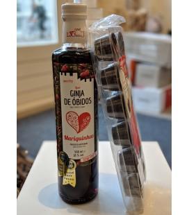 Sæt, Ginja + Chokolade kopper - LicObidos