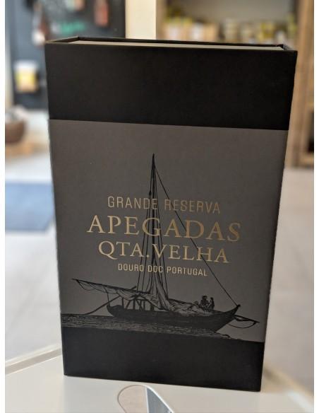 2 x Apegadas Qta. Velha Grande Reserva Douro DOC 2015 - Quinta das Apegadas