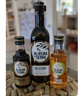 Sæt med Ekstra jomfru olivenolie + Balsamico og Pære Eddike