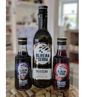 Sæt med Ekstra jomfru olivenolie + Figen og Tomat Eddike