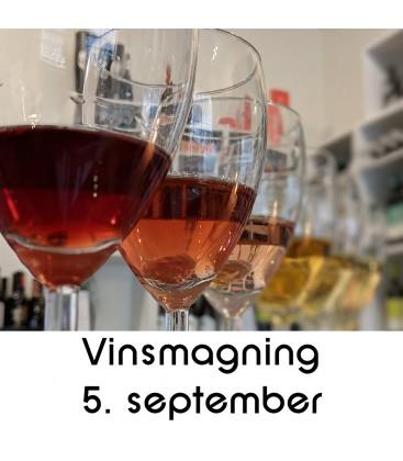 Vinsmagning og tapas - 5. september 2019