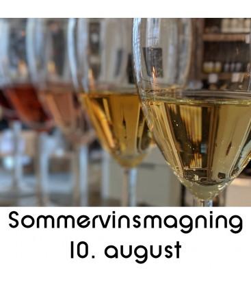 Sommervinsmagning og tapas - 10. august 2019