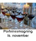 Portvinssmagning, Aalborg - 16. november 2019