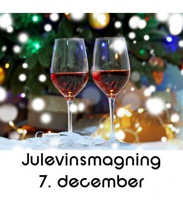 Julevinsmagning og tapas - 7. december 2019