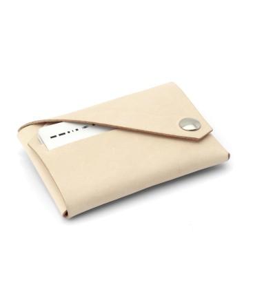 Læder Pung, Sort - Lemur Design
