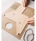 Læder Pung, Natur - Lemur Design