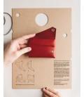 Læder Pung, Rød - Lemur Design