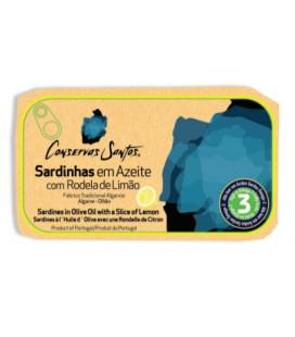 Sardiner i olivenolie m/ citron - Campos Santos