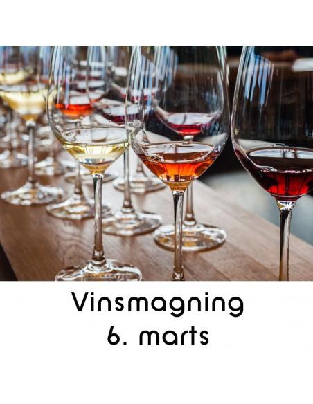 Vinsmagning og tapas, Aalborg - 6. marts 2020