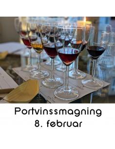 Portvinssmagning, Aalborg - 8. februar 2020