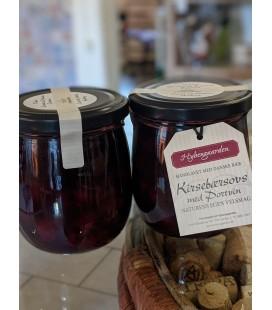 2 x Kirsebærsovs med Portvin - Hybengaarden