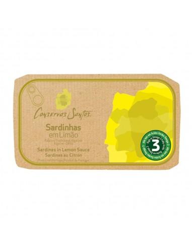 Sardiner i citron sauce - Campos Santos