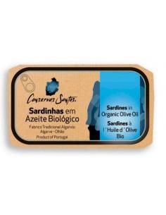 Sardiner i økologisk olivenolie - Campos Santos