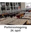 Portvinssmagning, Aalborg - 24. april 2020