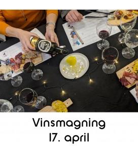 Vinsmagning og tapas, Aalborg - 2020