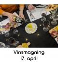 Vinsmagning og tapas, Aalborg - 17. april 2020