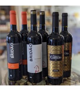 Rødvinskasse - Blandet Tejo vine