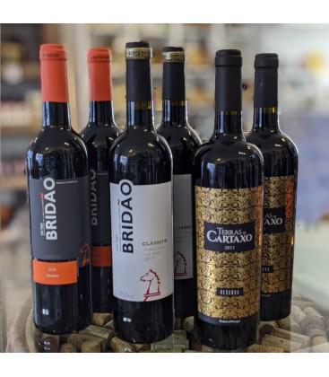 Rødvinskasse - Tejo vine