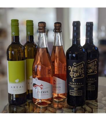 Rødvinskasse - Blandet Portugisiske vine