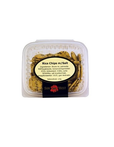 Rice Chips m/Salt