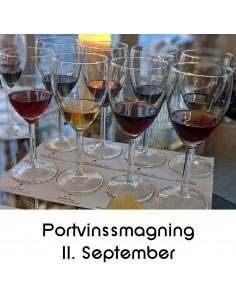 Portvinssmagning, Aalborg - 11. september 2020