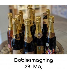 Boblesmagning og snacks, Aalborg - 29. maj