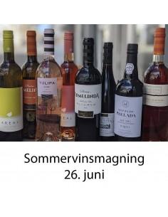 Sommervinsmagning og tapas, Aalborg - 26. juni 2020