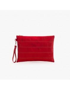 Clutch Taske af kork - Rød