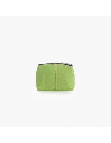 Mini pung af kork - Lime grøn