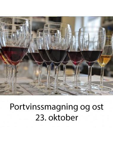 Portvinssmagning, Aalborg  - 23. oktober 2020