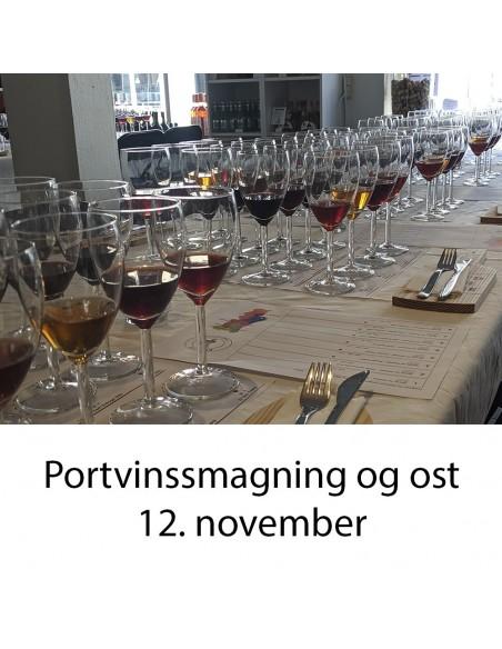 Portvinssmagning, Aalborg  - 12 november 2020