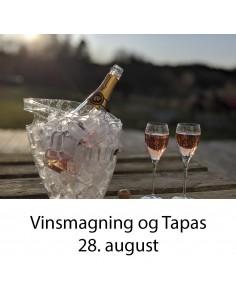 Vinsmagning og tapas, Aalborg - 28. august 2020