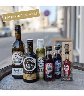 Stort Sommersæt - Olivenolie og Eddike